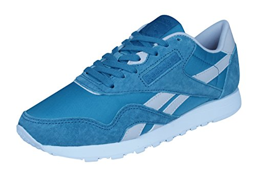 Reebok Damen X Face Classic Nylon Sneaker, Blau (Blue Bd2681), 38.5 EU