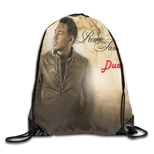 Yuanmeiju Romeo?Santos Fashion Backpack Design Shoulder Drawstring Bag Man Woman Bags One Size