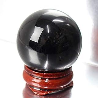 モリオン 丸玉 原石 morion 黒水晶 水晶玉 【35-37mm玉】天然石 パワーストーン a10076