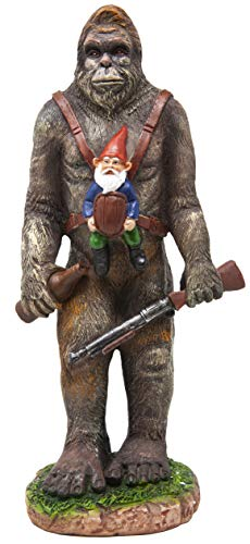 Bigfoot and A Gnome