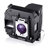 YOSUN Lampada del proiettore per Epson Elplp68 v13h010l68 eh-tw5900 eh-tw5910 eh-tw6000 eh-tw6000w eh-tw6100 eh-tw6100w eh-tw6515c eh-tw5800c eh-tw6500c Lampada del proiettore