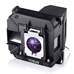 YOSUN v13h010l60 / v13h010l61Projector Lamp Bulb for Epson ELPLP60 ELPLP61 PowerLite 420 425W 905 92 93 95 96W 1835 430 435W 915W D6150 Replacement Projector Lamp Bulb with Housing