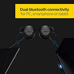 Jabra Evolve 65T True Wireless Professional UC Headset - MS Version