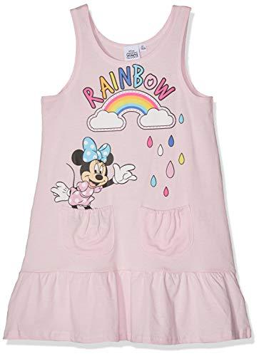 Disney Minnie Disney Mädchen Kleid 5713 Rose Clair, 6 Jahre