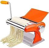 Pasta Maker Machine Manuale di Noodle Maker W 2 Blades e 8 Impostazioni di spessore Perfetto per Spaghetti Lasagna Cucina Gadget Regalo