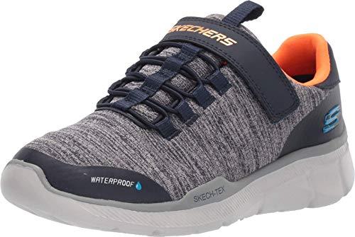 Skechers Boys' EQUALIZER 3.0 - AQUABLAST Trainers, Blue (Navy & Gray Textile/Navy & Orange Trim Nvgy), 11.5 UK (29 EU)