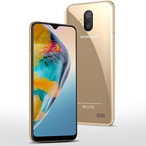 Smartphone Offerta del Giorno 5.5 pollici 32GB 128GB ROM 3GB RAM Android 9.0 Certificato Google GMS Smartphone Economici Cellulari Offerte Dual SIM 3400mAh Telefono Cellulare in Offerta 4G(Oro)