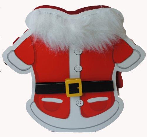 Michel-Toys Sac Cadeau Père Noël avec Barrette et Pendentif