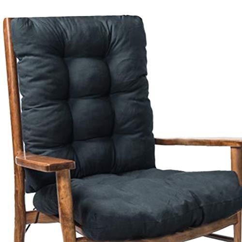 Smosyo High back cushion for rocking chair, deck chair seat cushions summer Low back cushion for rocking chair cushion Recliner cushion thicken back seat cushion