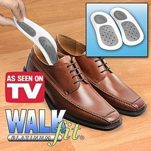 Walkfit Platinum Orthotics- Size E (W 9-9.5/M 8-8.5)