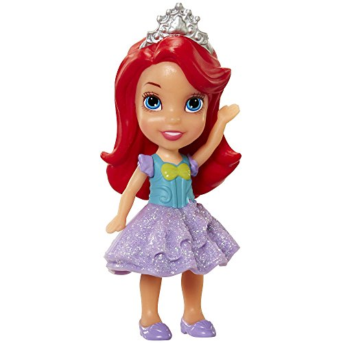 My First Disney Princess Sparkle Collection Mini Toddler Doll Mermaid Ariel by Jakks Pacific