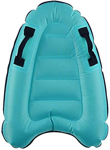 IZ RELEASE Portable Bodyboard Inflatable Pool Float Surfboard with Handles...