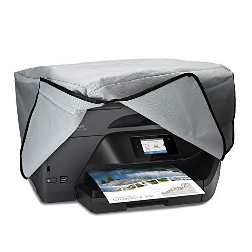 kwmobile Hülle kompatibel mit HP OfficeJet Pro 6000series - Drucker Staubschutzhülle Schutzhaube Schutzhülle - Hellgrau
