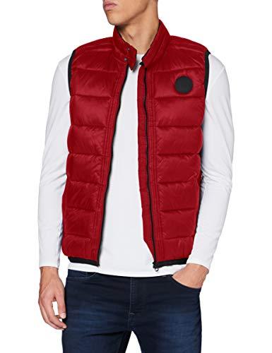 Pepe Jeans KEATS Parka, Rojo (287), Medium para Hombre