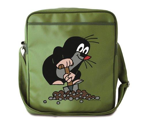 TV - De kleine mol schoudertas - sporttas - schoudertas - groen - gelicentieerd origineel design - LOGOSHIRT