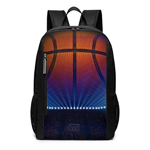 Schultasche Rucksack Basketball Awesome Screenshot Outdoor Travel Laptop Backpack Travel Accessories, Fashionable Backpack Suitable for 17 Inches