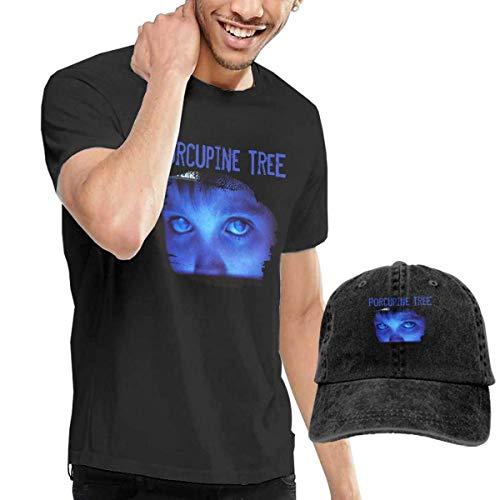 CINDYO Hemden Porcupine Tree Fear A Blank Planet Mens Tee Mens Tee T-Shirts Vintage Jeans Baseball Cap Hat