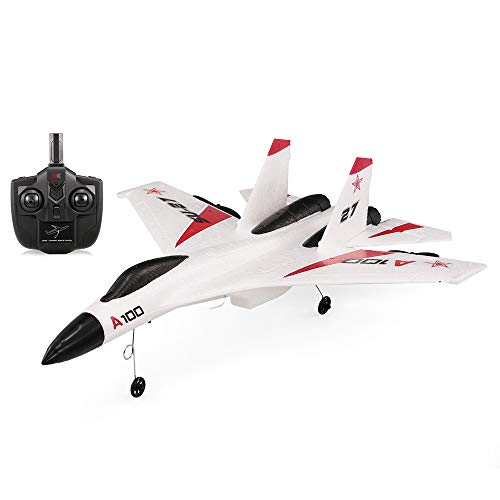 Goolsky WLtoys XK A100 2.4G 340mm 3CH RC Airplane Fixed Wing Plane Aircraft Outdoor Toys