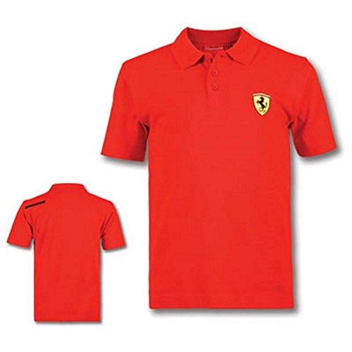 Ferrari Polo Enfant Scudetto Rouge