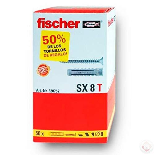 fischer 520752 Caja, 8x40 (tacos + tornillos)