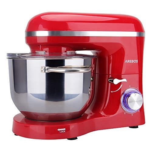 Arebos Küchenmaschine rot - 6