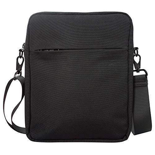 Umhängetasche Herren Klein iPad Pro 11 Zoll Tablet, Herrentasche zum Umhängen, Diebstahlsicher, Schwarz