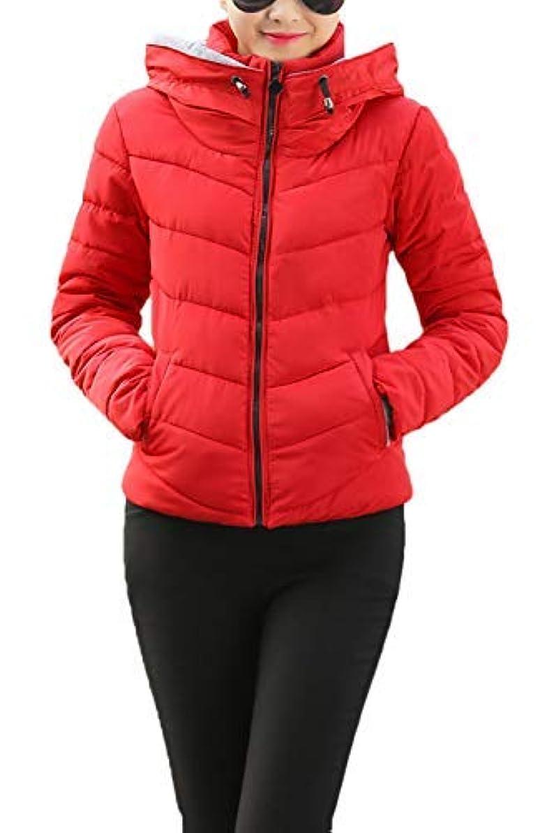 セーブ道を作るプログラムASHERANGEL レディースコート ダウンジャケット ジャケット 無地 ソフト 防寒 防風 暖かい 長袖 軽量 中綿 春秋冬 全8色