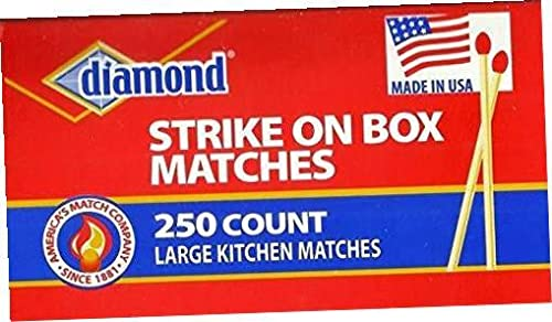 Diamond Kitchen Matches, 2/250ct