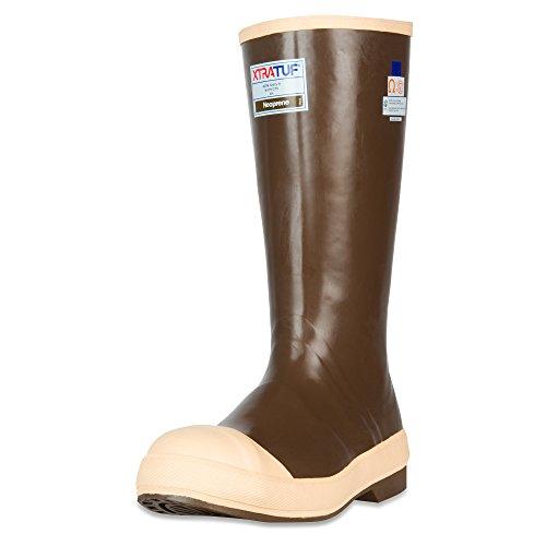 """XTRATUF Legacy Series 15"""" Neoprene Steel Toe Men's Fishing Boots, Copper & Tan (22271G)"""