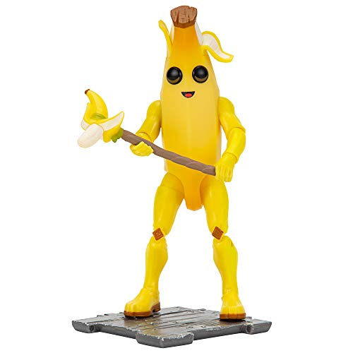 Fortnite FNT0262 Solo Mode - Figura de 4 pulgadas, color amarillo , color/modelo surtido
