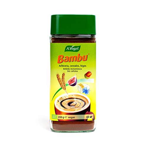 A. VOGEL - Bambu - Substitut de Café Instantané Bio - 100 % Naturel - Sans Caféine - À base de Céréales Torréfiées - À Boire Chaud ou Froid - 200 g = env. 130 Tasses