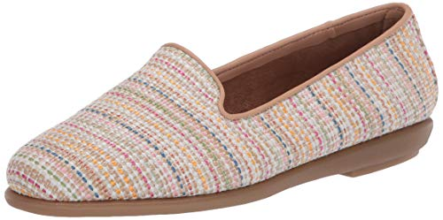 Aerosoles womens Casual, Flat, Driving Style Loafer, Multi Fabric, 8 US
