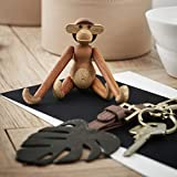 Kay Bojesen Madera Figura, Madera, marrón, 9.5x 5cm