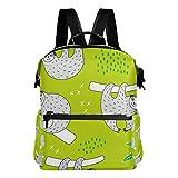 Mochila para portátil con diseño de perezoso, ideal para mujeres, hombres, niñas, niños y niñas