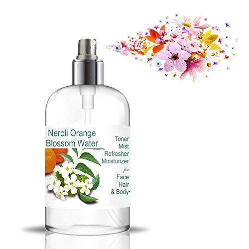 Neroliwasser Blütenwasser Orangenblüte 500 ml Orangenblüten Wasser 100% natürliche Inhaltsstoffe Ideal für jeden Hauttyp geeignet