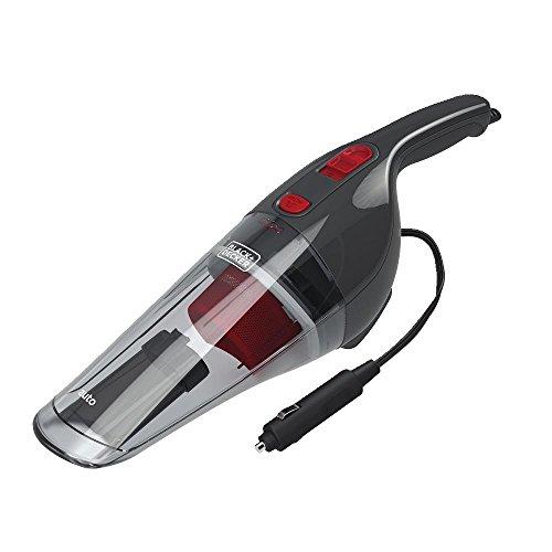 BLACK+DECKER Handheld Vacuum for Car, Corded, Grey (BDH1200NVAV)
