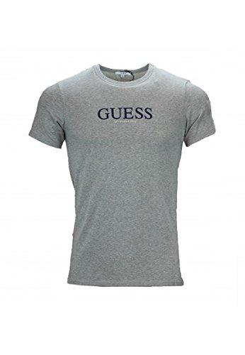 Guess - Tee-shirt manches courtes - L - Gris - Homme