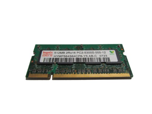 512MB DDR2 667MHZ Notebook Computer Memory - Hynix HYMP564S64CP6-Y5