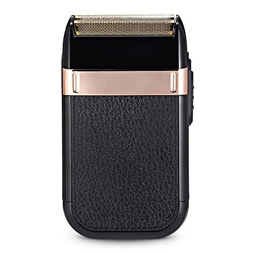 iFCOW Afeitadora eléctrica USB recargable a prueba de agua barba Trimmer removedor de pelo afeitadora para hombres aseo