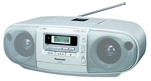 Panasonic ポータブルステレオCDシステム ホワイト RX-D45-W