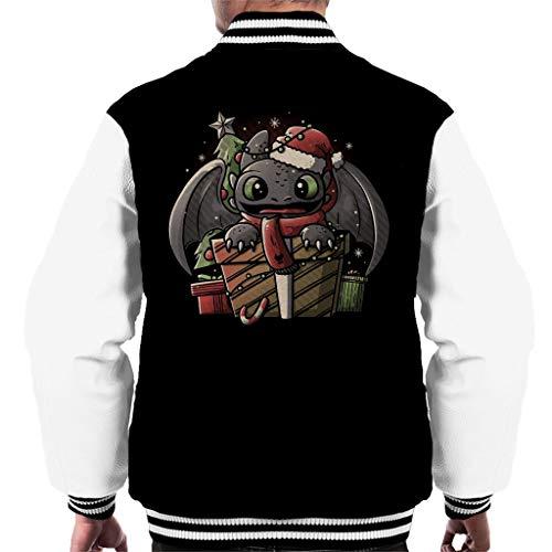 Tandloos dragen van kerstmuts Hoe je je Dragon Varsity Jacket voor heren kunt trainen