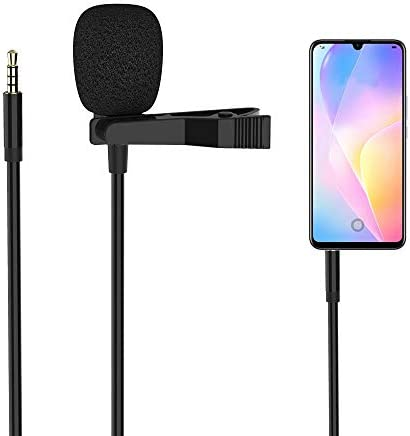 3 5mm Professional Microphone Clip Lavalier Lapel Microphone Video Recording Audio Mic Microphone product image
