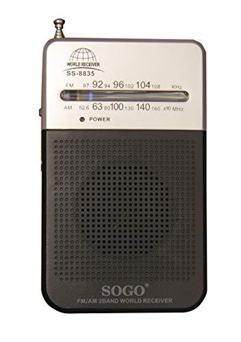 Radios Portatiles Pequeñas De Trabajo Marca SOGO