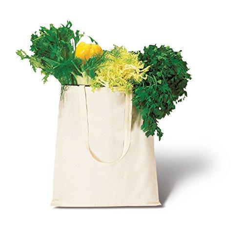 Stock 30 Pezzi Borsa Shopper Shopping in Cotone Naturale