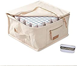 KnitIQ Blocking Mats for Knitting Premium Set – Extra Thick Blocking Boards with Grids, 150 Strong and Rustproof T-Pins in Artisan Tin, Quality Knitting Bag for Needlework or Crochet – Pack of 9