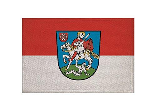 U24 Aufnäher Bingen Fahne Flagge Aufbügler Patch 9 x 6 cm
