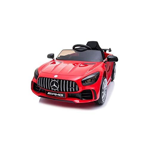 ATAA Coche eléctrico para niños Mercedes GTR 12v con Licencia - Coche de...