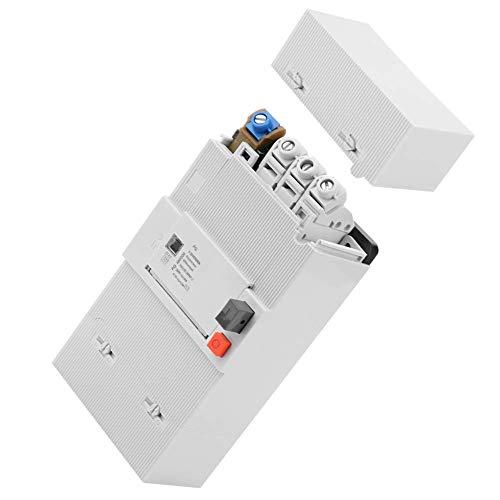 YELLAYBY Protección de circuitos Interruptor de Circuito automático de los hogares, 30-60A 4-Pole Circuit Breaker 50Hz / 60Hz Baja tensión del Interruptor de protección del Aire montado Transferencia