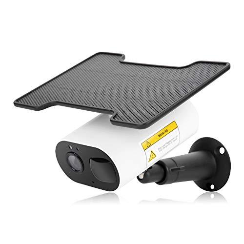 Cámara de Seguridad para Exteriores 1080P HD WiFi Camera Cámara de vigilancia inalámbrica con energía Solar con Panel Solar, visión Nocturna, ángulo de visión Amplio de 114 °, Compatible con Tuya