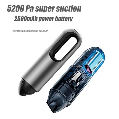 Mini Akkusauger Für Auto Wireless 5200Pa Tragbarer Handheld Auto-Staubsauger Innen, Haushalts-Und Computerreinigung